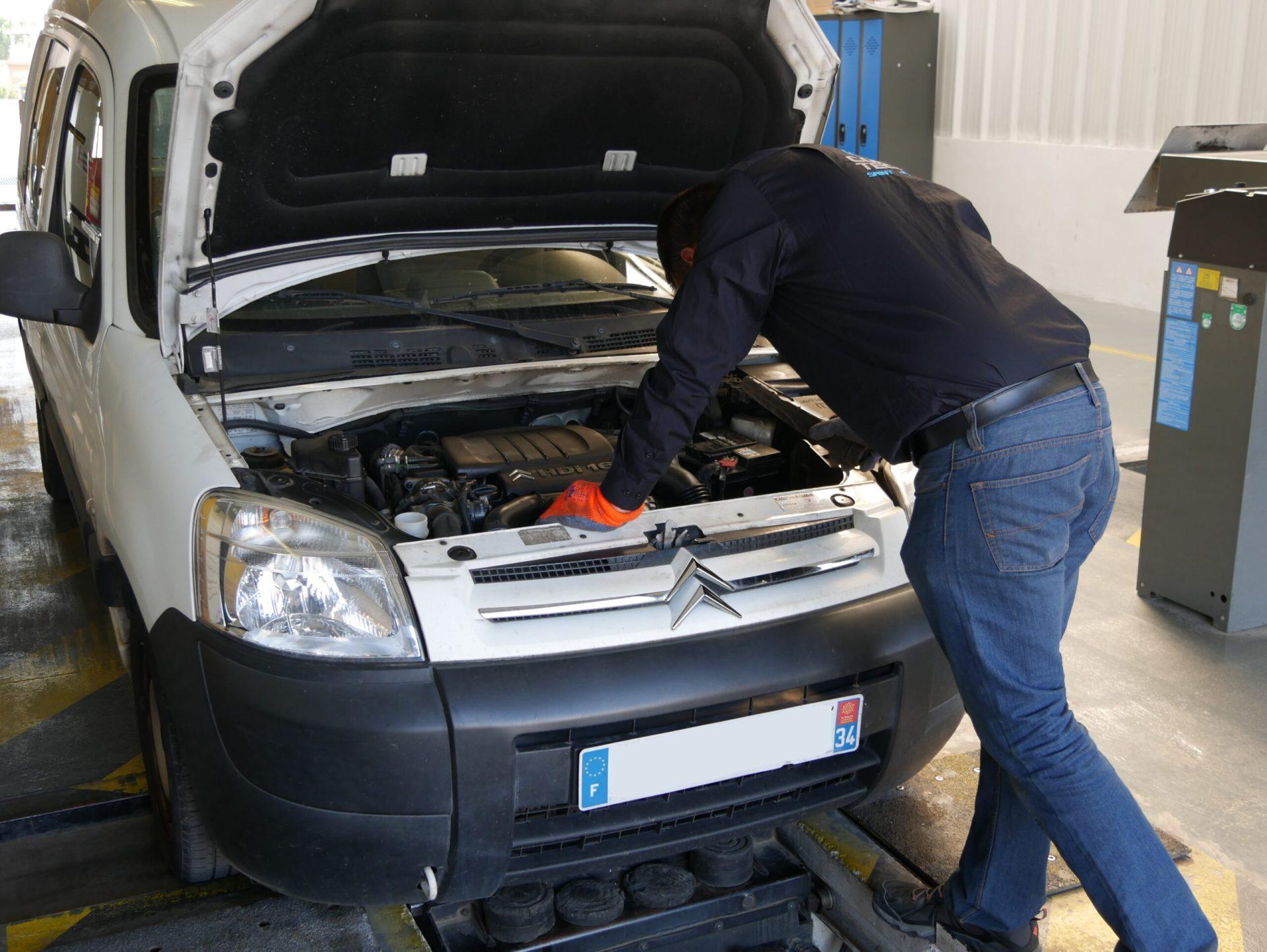 Contrôle technique avant la vente d'un véhicule d'occasion - Norisko Montpellier